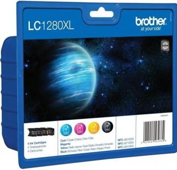 BROTHER Cartucho Inkjet LC-1280XLVALBP rainbow