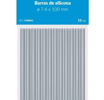 PRYSE Barra de cola para barras de cola 11,2x200mm (silicona) 12uds