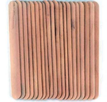 PRYSE Bolsa de 50 palos de polo natural 114x10x2mm
