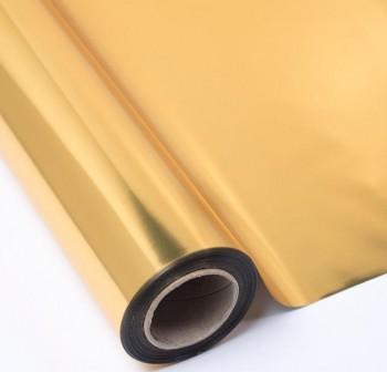 PRYSE Bobina papel regalo 0,7x50m metalizado ORO