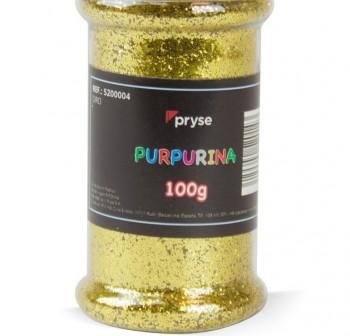 PRYSE Bote de purpurina 100gr ORO