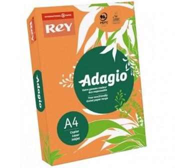 ADAGIO Paquete 500h papel color paper 80gr DINA4 albaricoque intenso