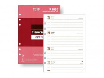 FINOCAM Recambio agenda (R1093) s/v apaisado mod.1000 2019