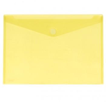 GRAFOPLAS Pack de 5 sobres pp multiline velcro tarjeta 105x62 AMARILLO