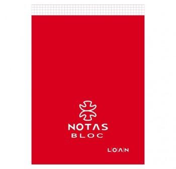 LOAN Bloc notas 80 hojas FOLIO C-4mm.