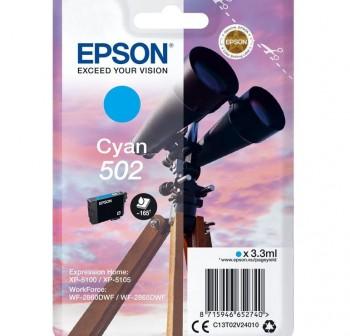 EPSON Cartucho inkjet C13T02V24010 502 original cyan