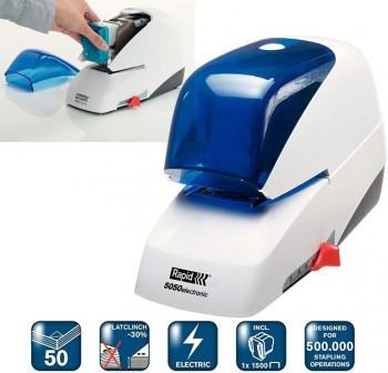 RAPID Grapadora eléctrica 5050E azul
