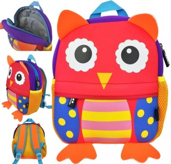 "DMM Mochila de guarderia ""Happy animals\"" BUHO"