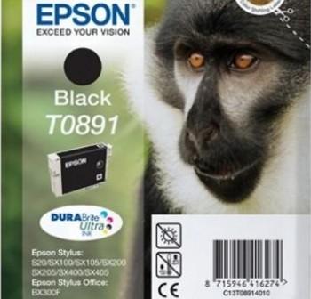 Cartucho Ink-Jet Epson C13T08914021 Blister+ alarma negro