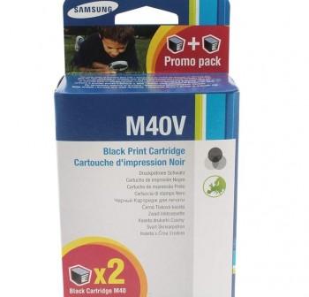 Cartucho Ink-Jet Samsung INK-M40V/ELS negro alta capacidad