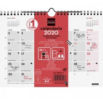 FINOCAM Calendario pared escribir S 2021