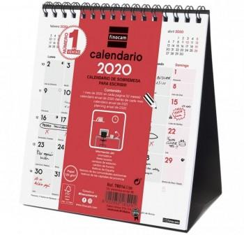 FINOCAM Calendario sobremesa XS escribir 2021