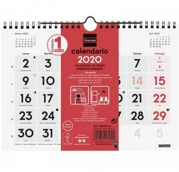 FINOCAM Calendario pared numeros grandes M 2021