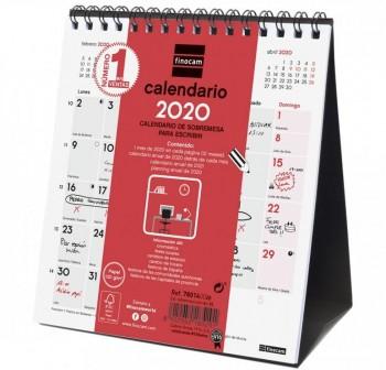 FINOCAM Calendario sobremesa escribir S 2021