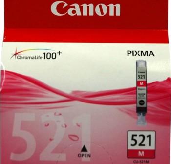 Cartucho Ink-jet Canon CLI-521 magenta