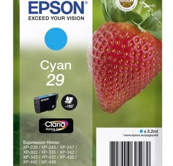 Cartucho Ink-jet Epson C13T29824010 cyan
