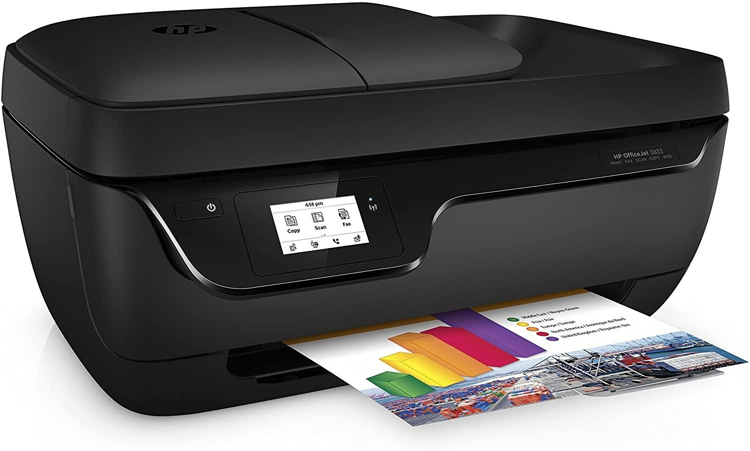 HP Multifuncion officejet 3833 color wifi USB