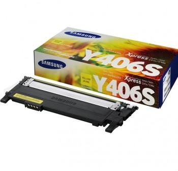 SAMSUNG Toner laser CLT-Y406S AMARILLO original 1k