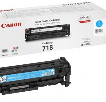 CANON Toner laser 718C CYAN (2,9K)