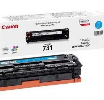 CANON Toner laser 731C original CYAN
