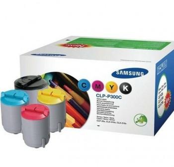 Pack de 4 tóner láser Samsung CLPP300C cyan, magenta, amarillo y negro