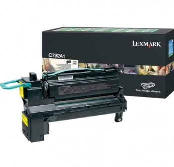 Tóner láser Lexmark C792A1CG cyan