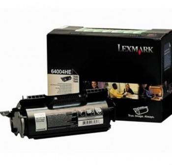 Tóner láser Lexmark 64004HE negro