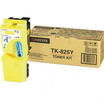 Tóner láser Kyocera TK825Y amarillo