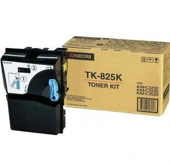 Tóner láser Kyocera TK825K negro