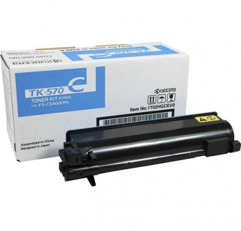 KYOCERA Toner laser TK-570C original CYAN 12k