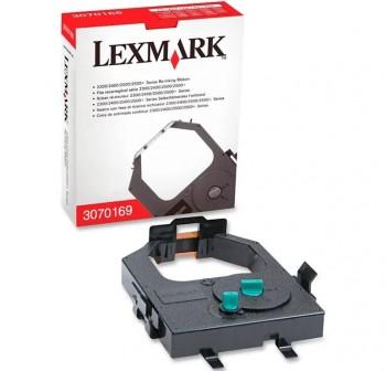 Cinta de impresión Lexmark 3070169 negra