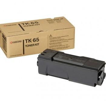 KYOCERA Toner laser TK-65 original NEGRO 20k