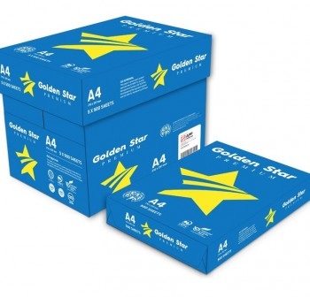 GOLDEN Star AZUL PREMIUM A-4 100% PEFC Certificado papel fotocopiadora