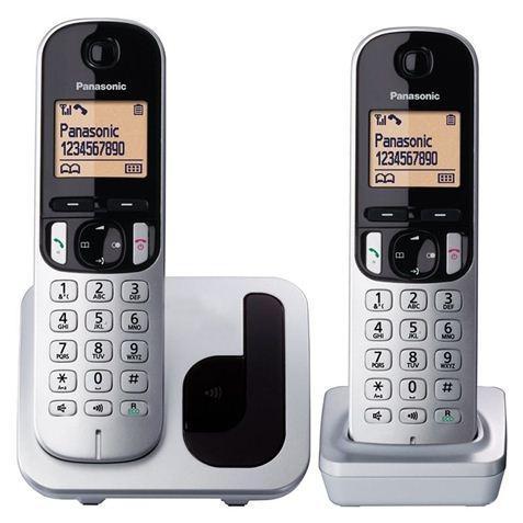 PANASONIC Teléfono inhalambrico KX-TGC212PL Pack DUO