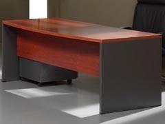 OFIMAGINA Mesa serie BASIC  recta 140x74x80 pata madera