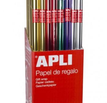 PRYSE Bobina papel regalo 0,7x2mts. Diseño todo año