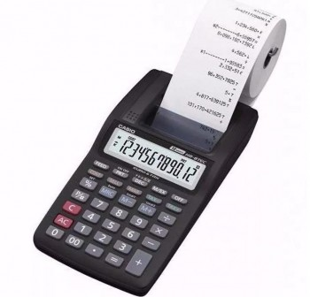 CASIO Calculadora mini impresora hr-8ter