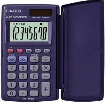 CASIO Calculadora bolsillo hs-8er