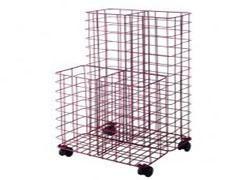 CILINDRO Portaplanos metalico con ruedas y varill