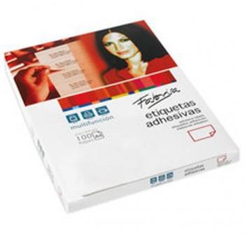 FABRISA Etiqueta multifuncion A4 c-100hoj 38x21,2 mm 6500unds nº6