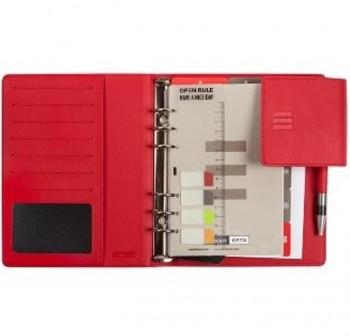 Agenda finocam open 1000 flap semana vista 15,5x21,5cm rojo