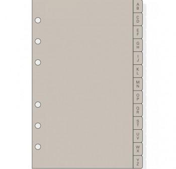 Indice alfabético Finocam Open 500 r564 separadores de plástico mediano