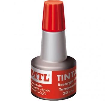 MTL Tinta sellar 30ml rojo