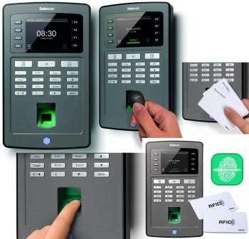 SAFESCAN Terminal de fichaje serie TA-8030 (tarjeta + huella)