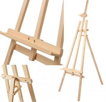 ARTES Caballete de madera pino 1,20m