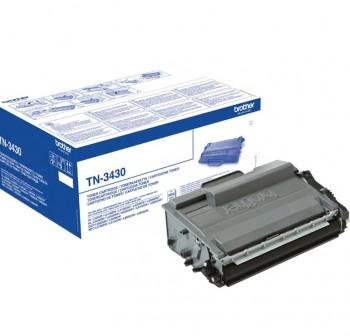 BROTHER Toner laser TN-3430 negro original 3k