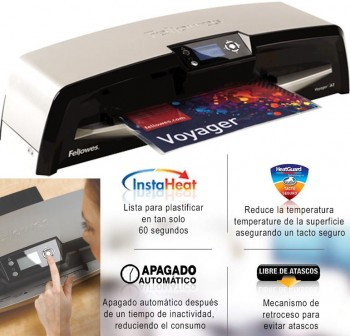 FELLOWES Plastificadora Voyager A3