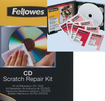 FELLOWES Reparador arañazos cd/dvd