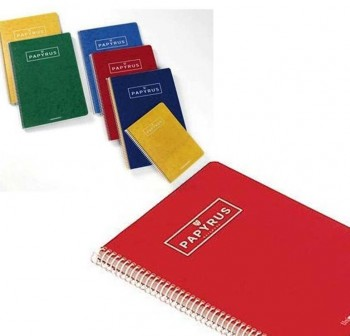 UNIPAPEL Cuadernos tapa dura 4º 80h pautado 2,5 colores surtidos