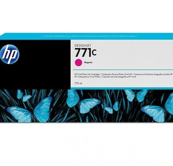 HP Cartucho inkjet B6Y09A magenta nº771C 775ml